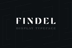 Findel Display Typeface