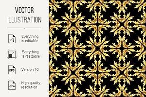 Gold pattern