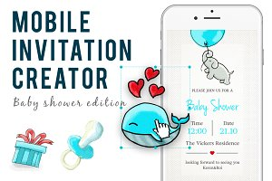 Mobile  Invitation  creator