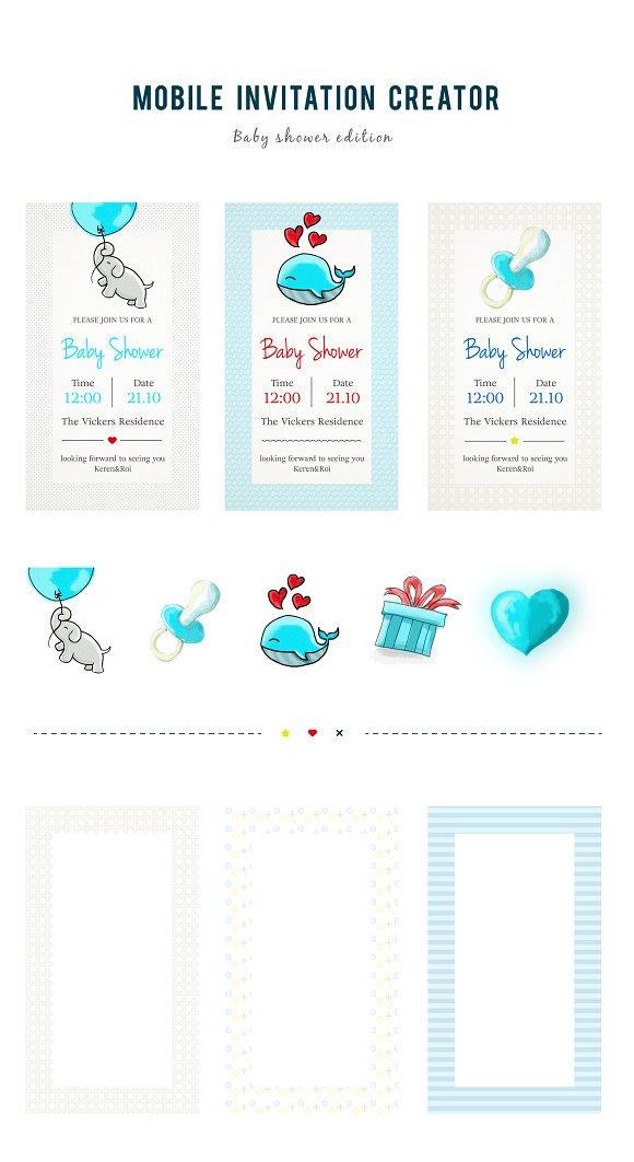 mobile invitation creator invitation templates creative daddy