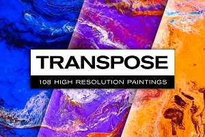 Transpose: 108 Abstract Paintings