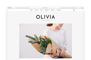 Olivia - A Blog & Shop Theme