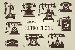 Retro vector set