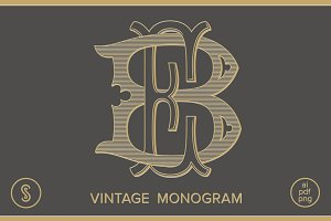 BE Monogram EB Monogram