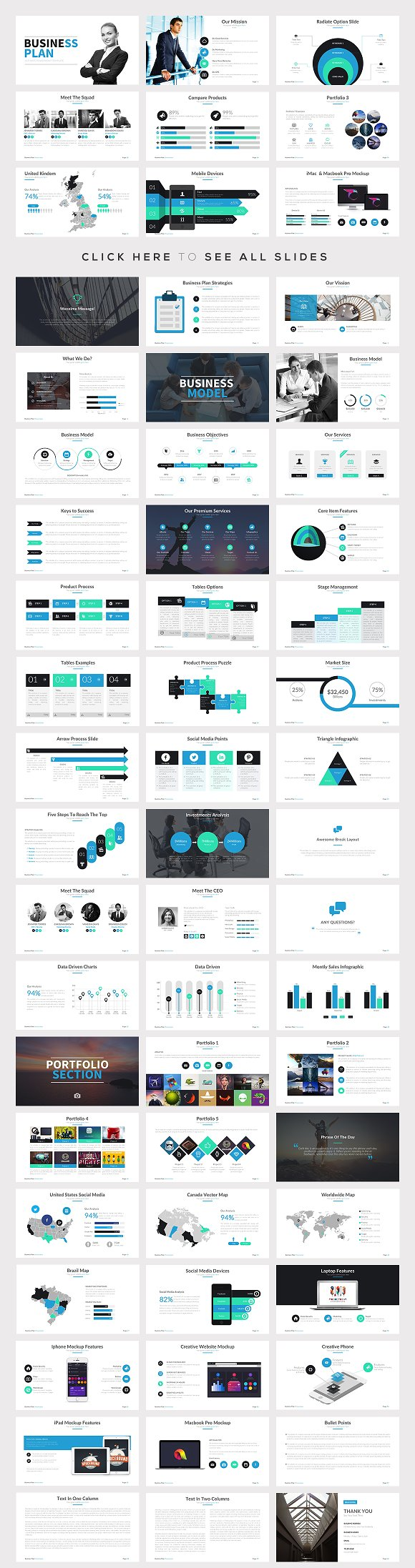 best powerpoint templates bundle presentation templates creative market