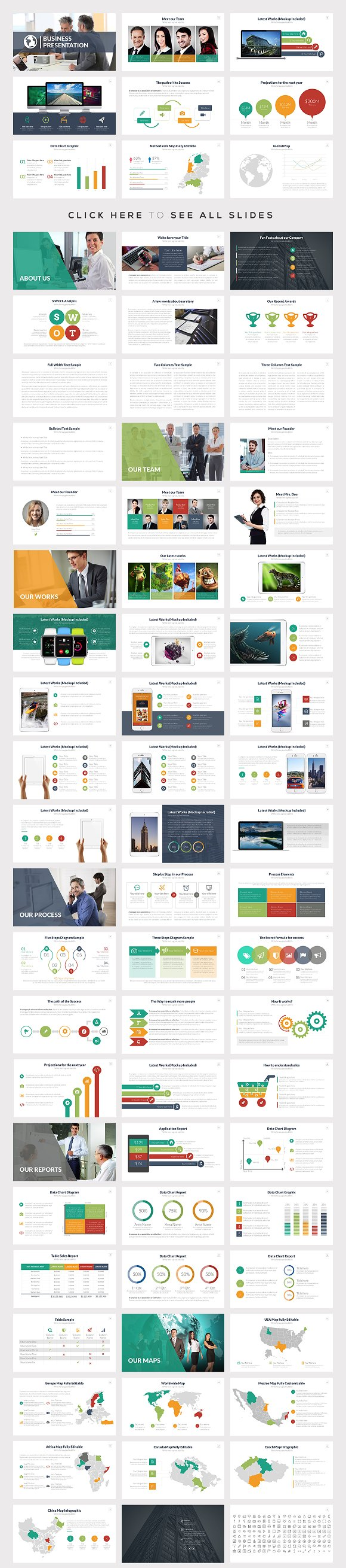 Best powerpoint templates bundle presentation templates creative best powerpoint templates bundle presentation templates creative market flashek Images