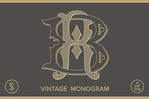 BR Monogram RB Monogram