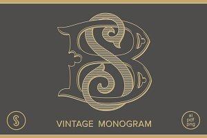BS Monogram SB Monogram