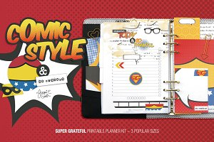 Super Grateful Printable Planner Kit
