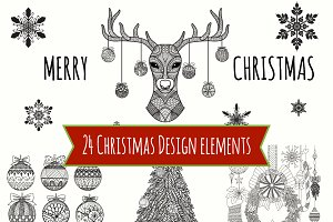 Christmas design element