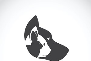Vector image of pets design.