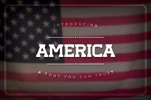 America, the Font