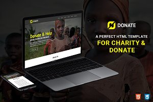 Fundraising HTML Template - Charity