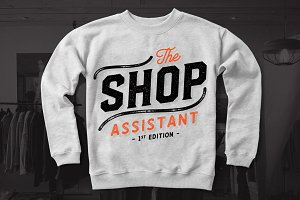 The Shop Assistant - Vectors