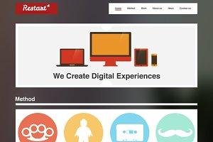 Restart HTML5 Portfolio
