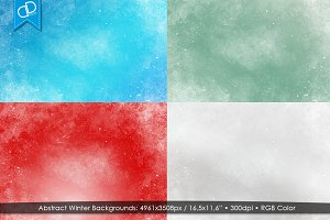Abstract Winter Backgrounds