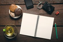 Notepad on the desktop