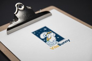 VitaBunny Logo Template