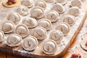 Dumplings.