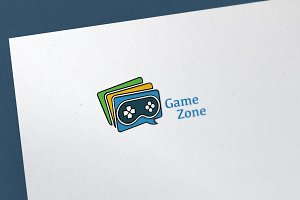 Game Zone Logo Template