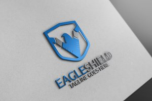 Eagle Shield Logo 10 % discount