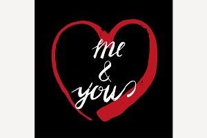Romantic Typography