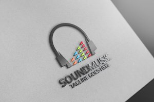 Music Sounds Logo 10 % discount