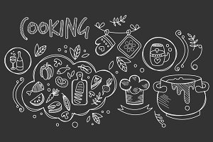 Cooking Vector Illustration