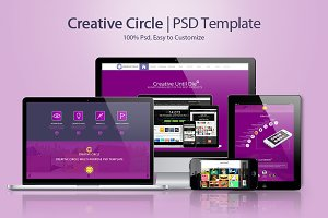 Creative Circle | PSD Template