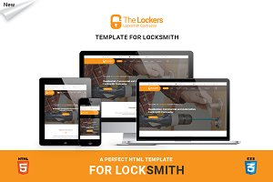 Locksmith-Business Website Template