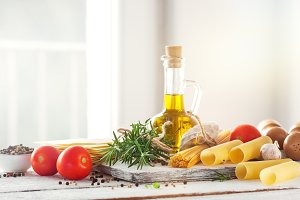 Cooking concept of italian food