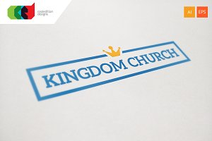 Crown Word - Logo Template