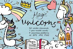 Magic unicorns bundle