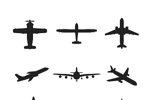 Airplanes iconset