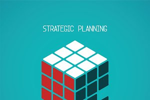 Strategic planning concept