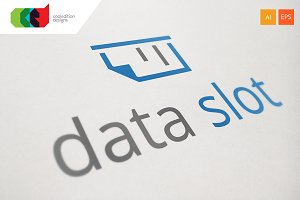 Data Slot - Logo Template