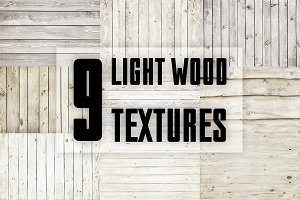 Light wood textures