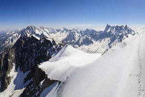 Alps skyline