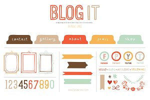 Blog It (Clipart)