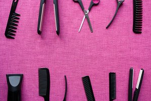 equipment for hairdresser