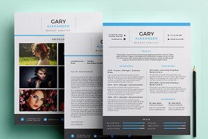 Creative PowerPoint resume pack