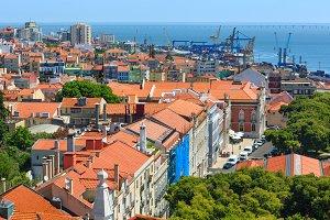 Lisbon cityscape, Portugal.