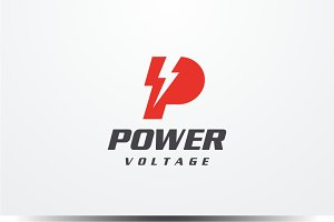 Power - Letter P Logo