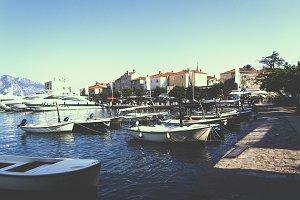 Budva Marina — Fishing Boats