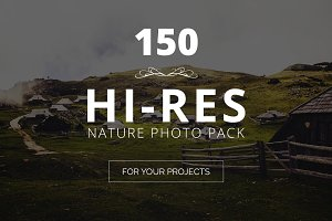 Huge Nature Photo Pack - 150 Images
