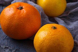 Sweet orange tangerines
