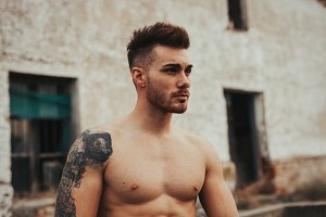 Attractive guy