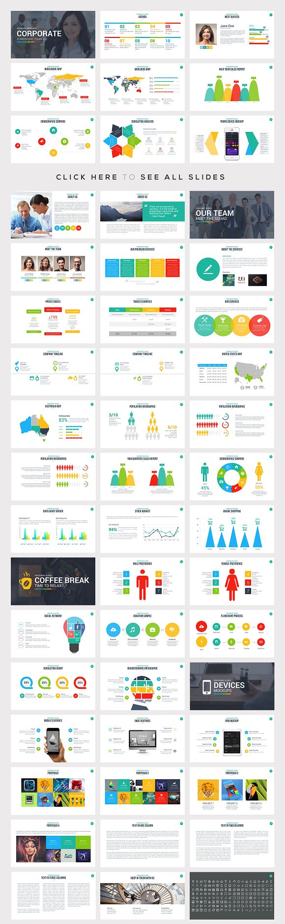 best powerpoint templates bundle presentation templates creative market