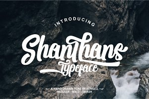 Shanthans Typeface (30%OFF)