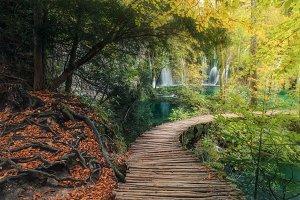 Park Plitvice Lakes TIF